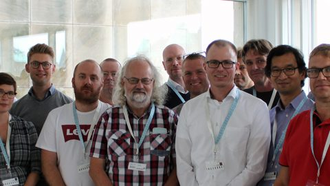 Projektdeltagarna i projektet ELSA.