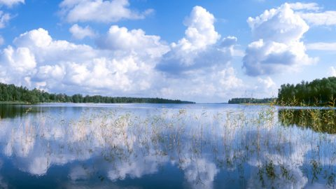 Foto på Bolmen: Sydvatten