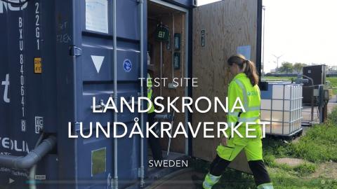 Nya tekniker för att rena avloppsvatten från läkemedelsrester på Lundåkra avloppsreningsverk.