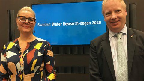 Maria Sätherström Lantz och Henrik Aspegren presenterar SWR-dagen 2020